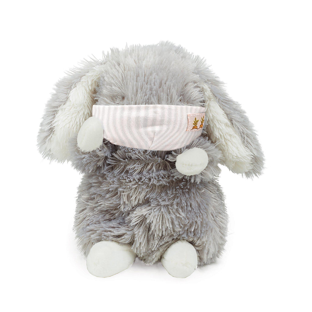 Wee Bloom Bunny with Face Mask-Stuffed Animal-SKU: 101138 - Bunnies By The Bay