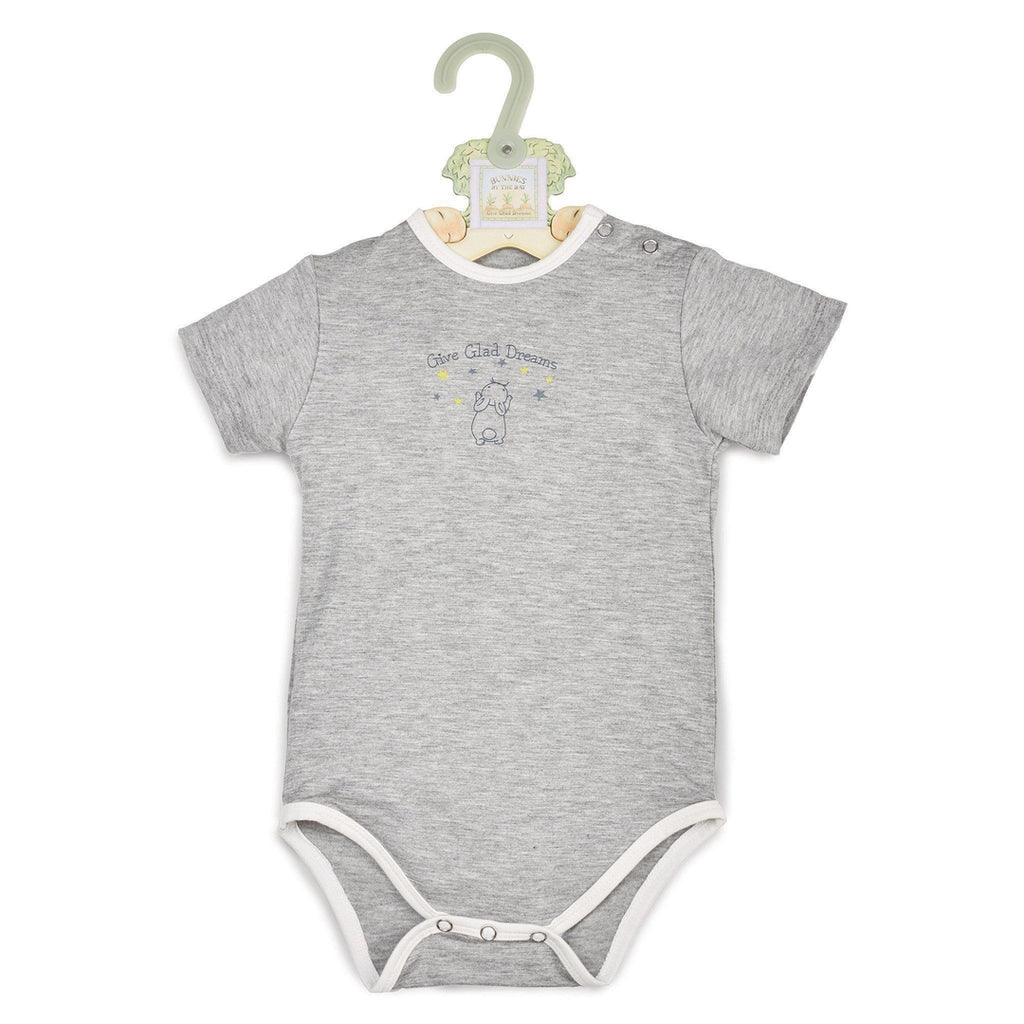 Image of Give Glad Dreams Bunsie-Apparel-Bunnies By the Bay-0-3 months-Grey-bbtbay
