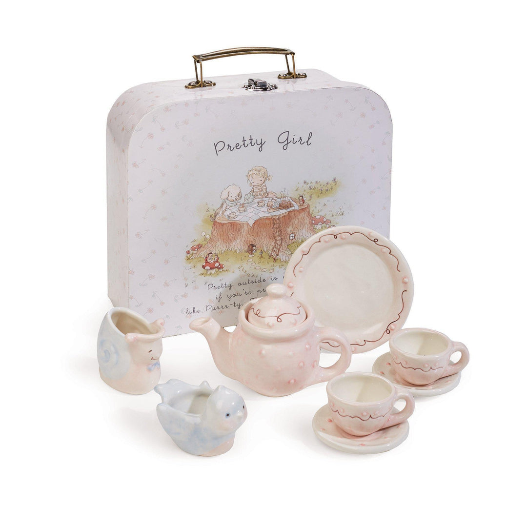 Pretty Girl Tea Set