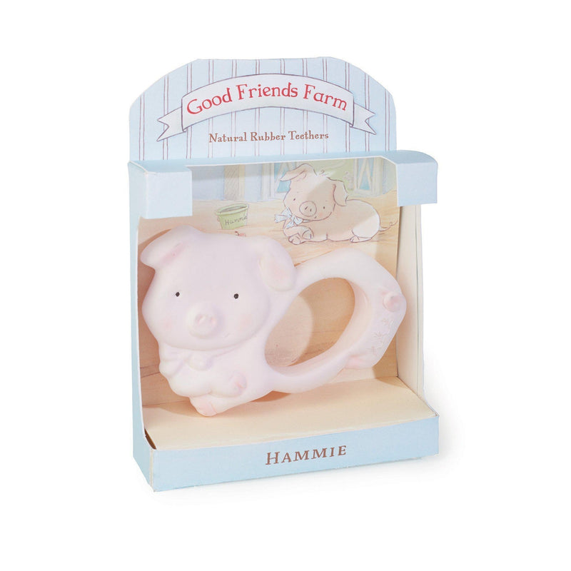 Image of Hammie the Piglet Teether-Teether-Bunnies By the Bay-bbtbay