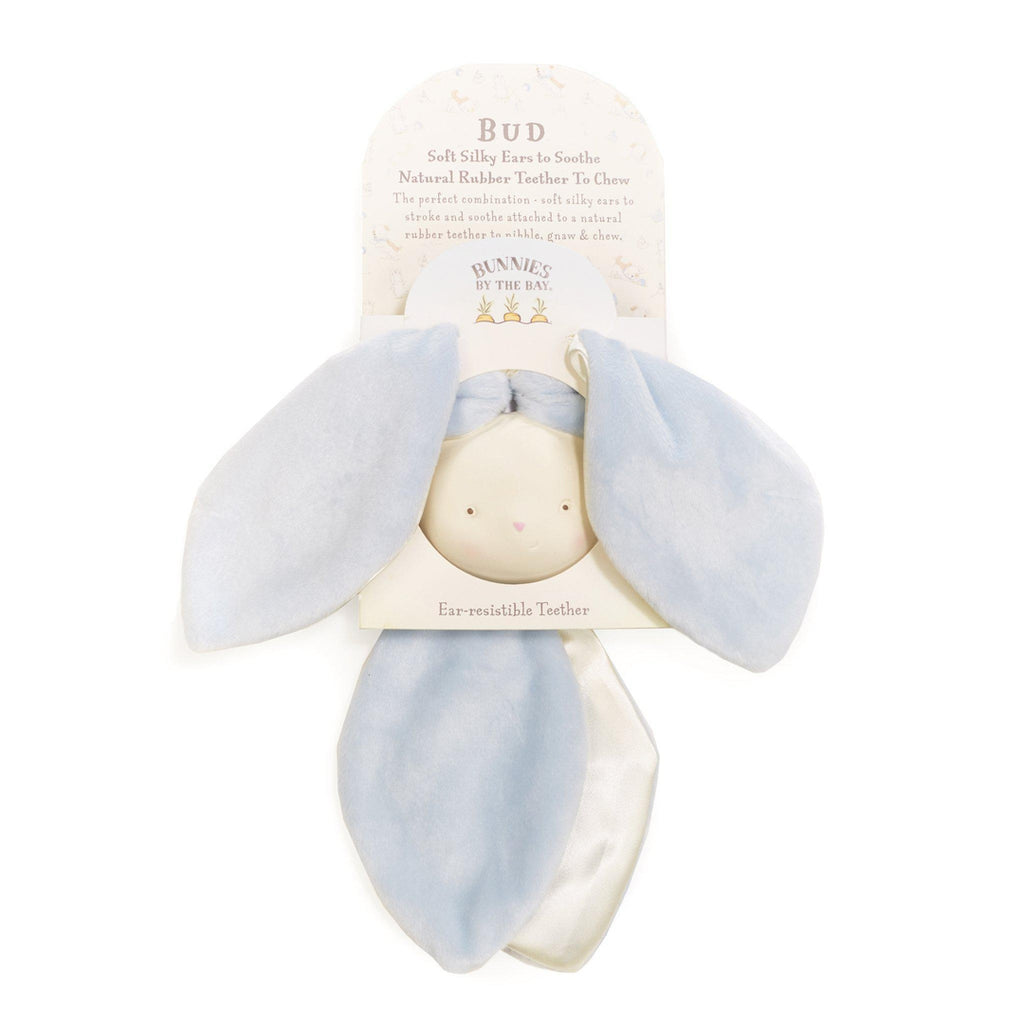 [product-color] Bud Bunny Ear-resistible Teether a Teether from Bunnies By the Bay: -843584013451-100266