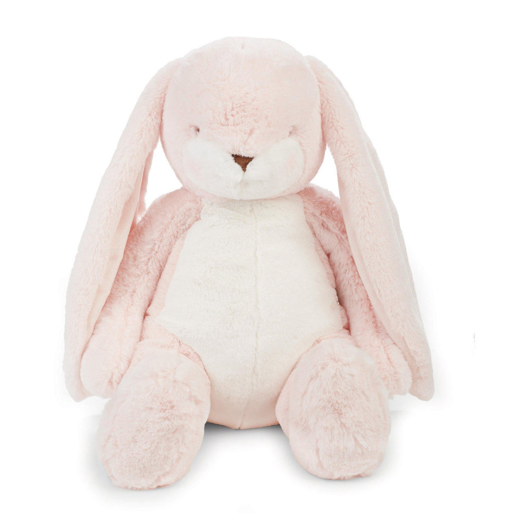 Image of Big Nibble Bunny - Pink-Stuffed Bunny-Bunnies By the Bay-bbtbay