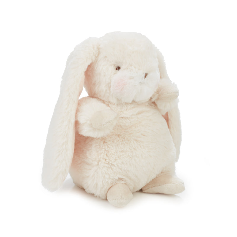 "Bunny Plush Stuffed Animal - Tiny Nibble 8"" Bunny - Cream-Wee & Wittle-SKU: 100420 - Bunnies By The Bay"