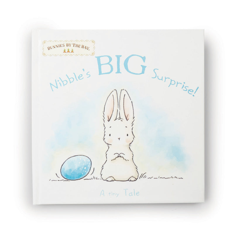 Nibble's Big Surprise Book and Bunny Set-Gift Set-SKU: 101127 - Bunnies By The Bay