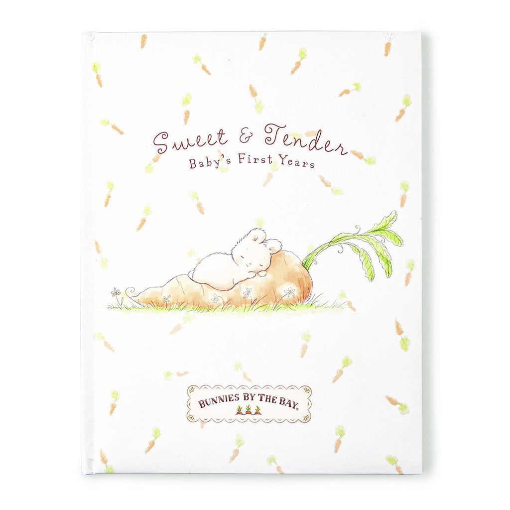 [product-color] Sweet & Tender Record Book a Book from Bunnies By the Bay: -843584013871-100424