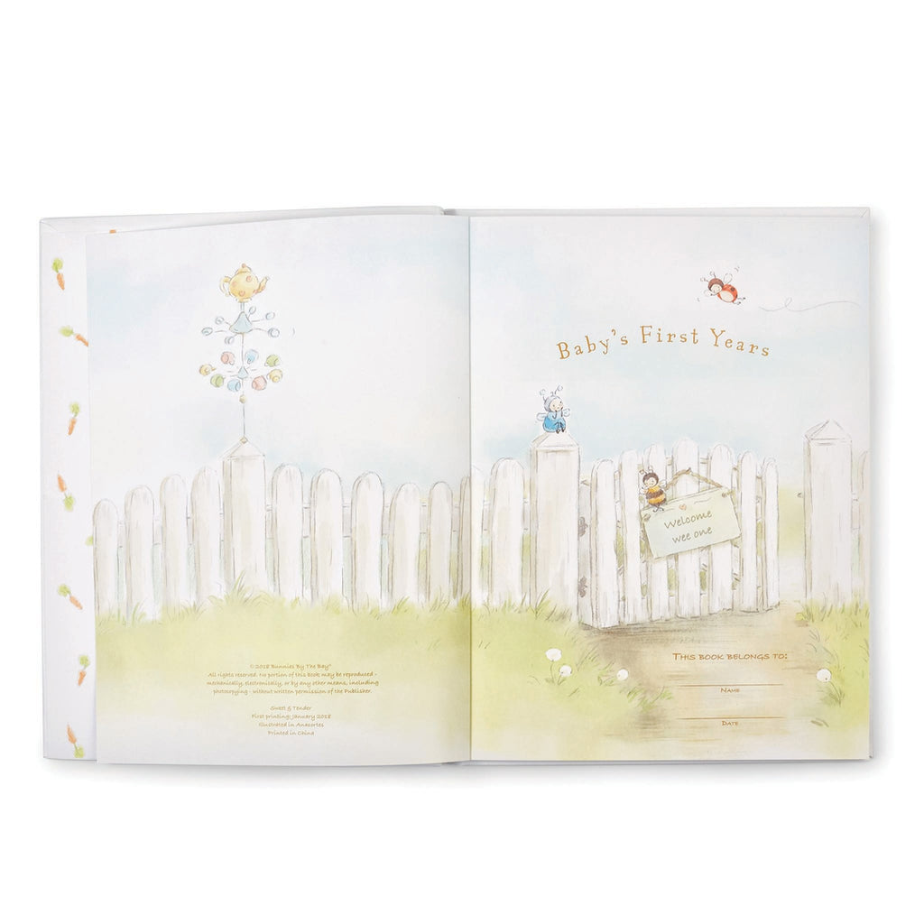 Sweet & Tender Record Book-Book-Bunnies By The Bay