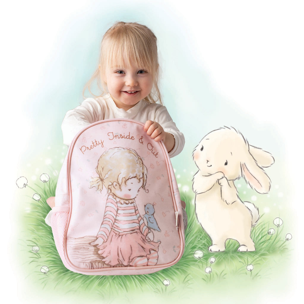 RETIRED - Pretty Girl Backpack-Retired-Bunnies By The Bay