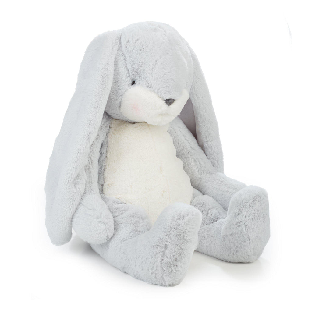 "Big Nibble 20"" Bunny - Gray-Stuffed Bunny-Bunnies By The Bay"