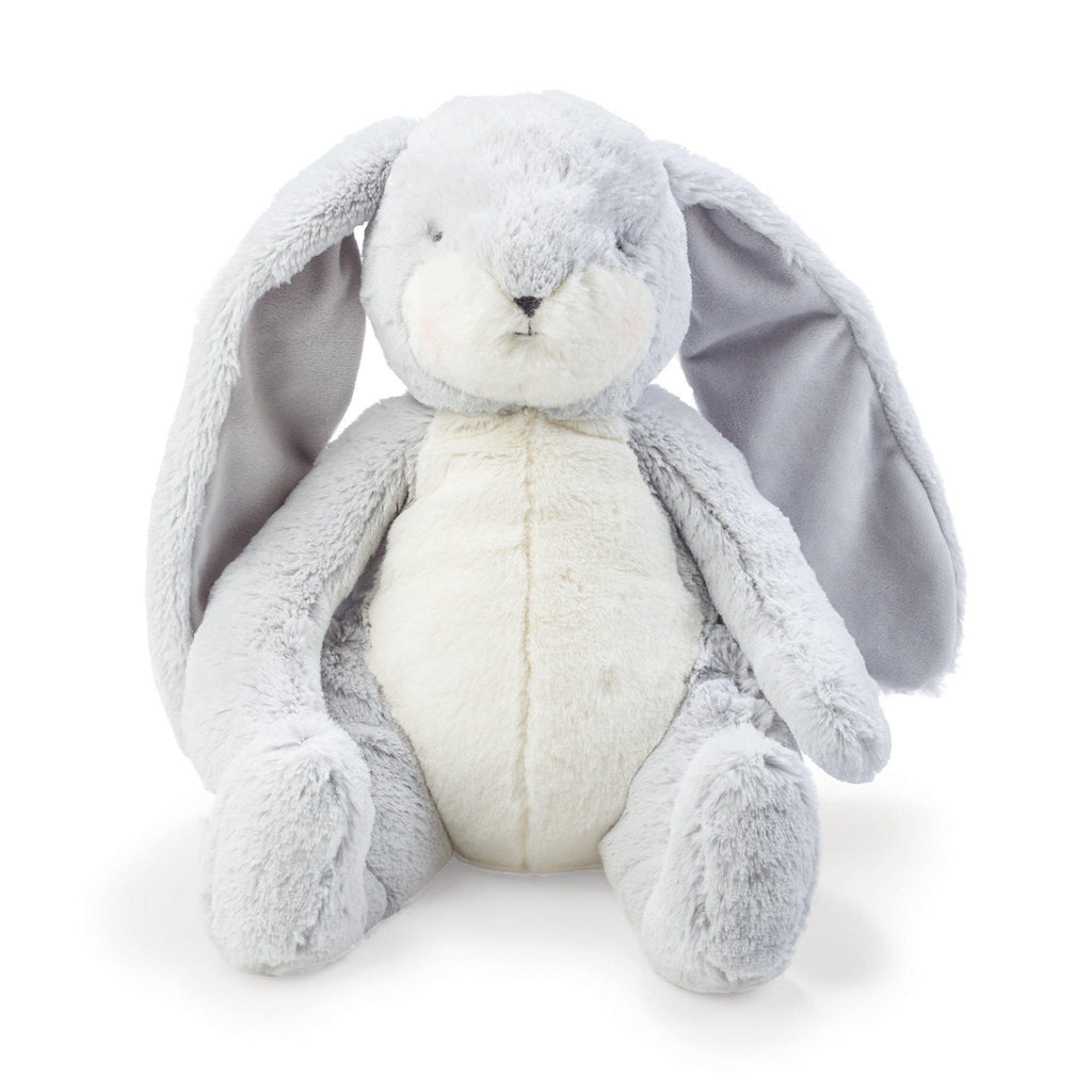 Image of Sweet Nibble Bunny Gray-Stuffed Bunny-Bunnies By the Bay-bbtbay