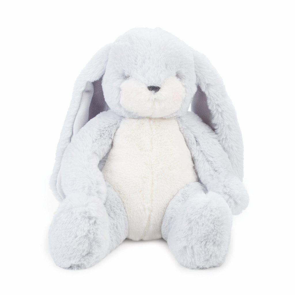 Image of Little Nibble Bunny Gray-Stuffed Bunny-Bunnies By the Bay-bbtbay