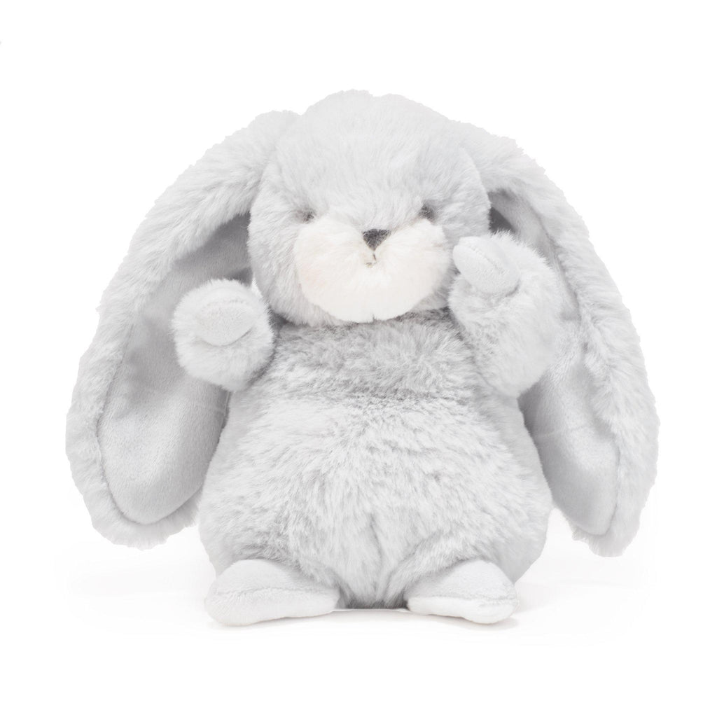 Image of Tiny Nibble Bunny Gray-Stuffed Bunny-Bunnies By The Bay - Wholesale-bbtbay