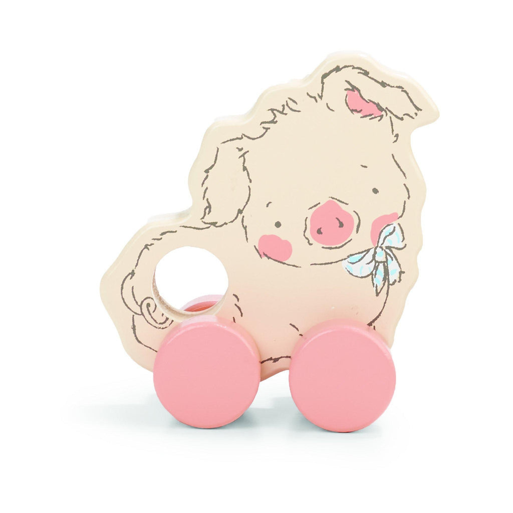 Image of Hammie Pig Push Toy-Push Pull Toy-Bunnies By the Bay-bbtbay