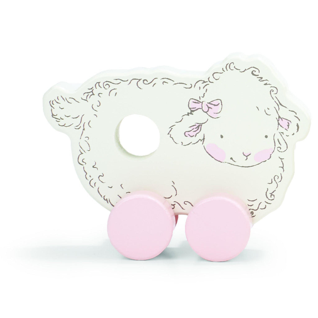 [product-color] Baa-bs the Sheep Push Toy a Push Pull Toy from Bunnies By the Bay: -843584014090-100435