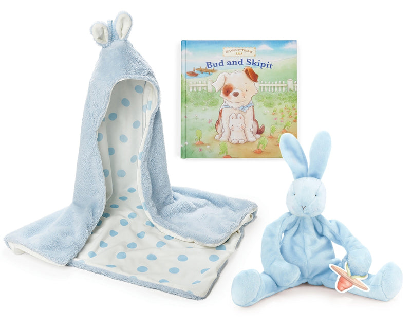 Image of Baby Bud Storytime Gift Set-Bunnies By The Bay-bbtbay