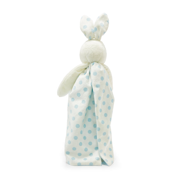 Dotted Blue Bunny Buddy Blanket-Buddy Blanket-SKU: 100487 - Bunnies By The Bay