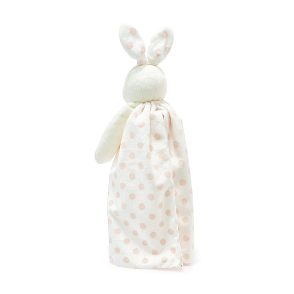Dotted Pink Bunny Buddy Blanket-Buddy Blanket-SKU: 100488 - Bunnies By The Bay
