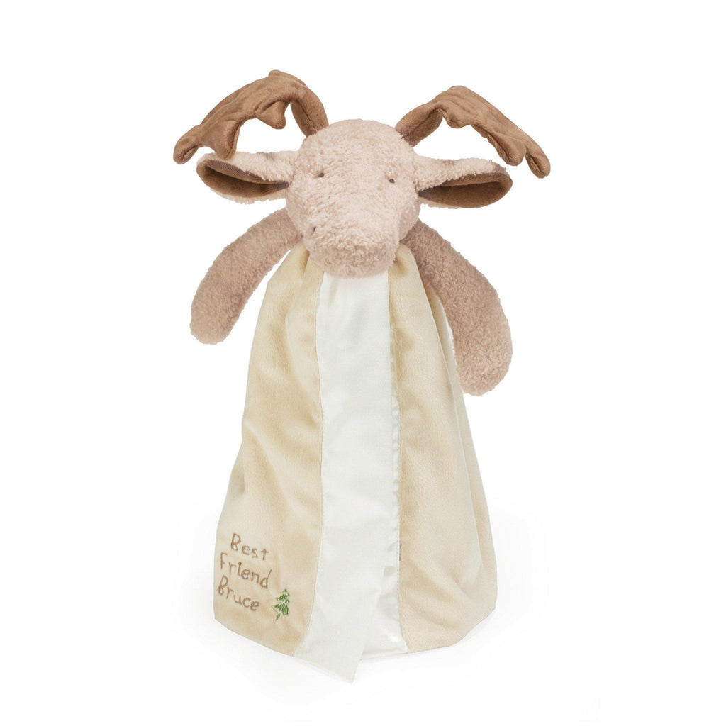 Image of Bruce the Moose Buddy Blanket-Buddy Blanket-Bunnies By The Bay-bbtbay