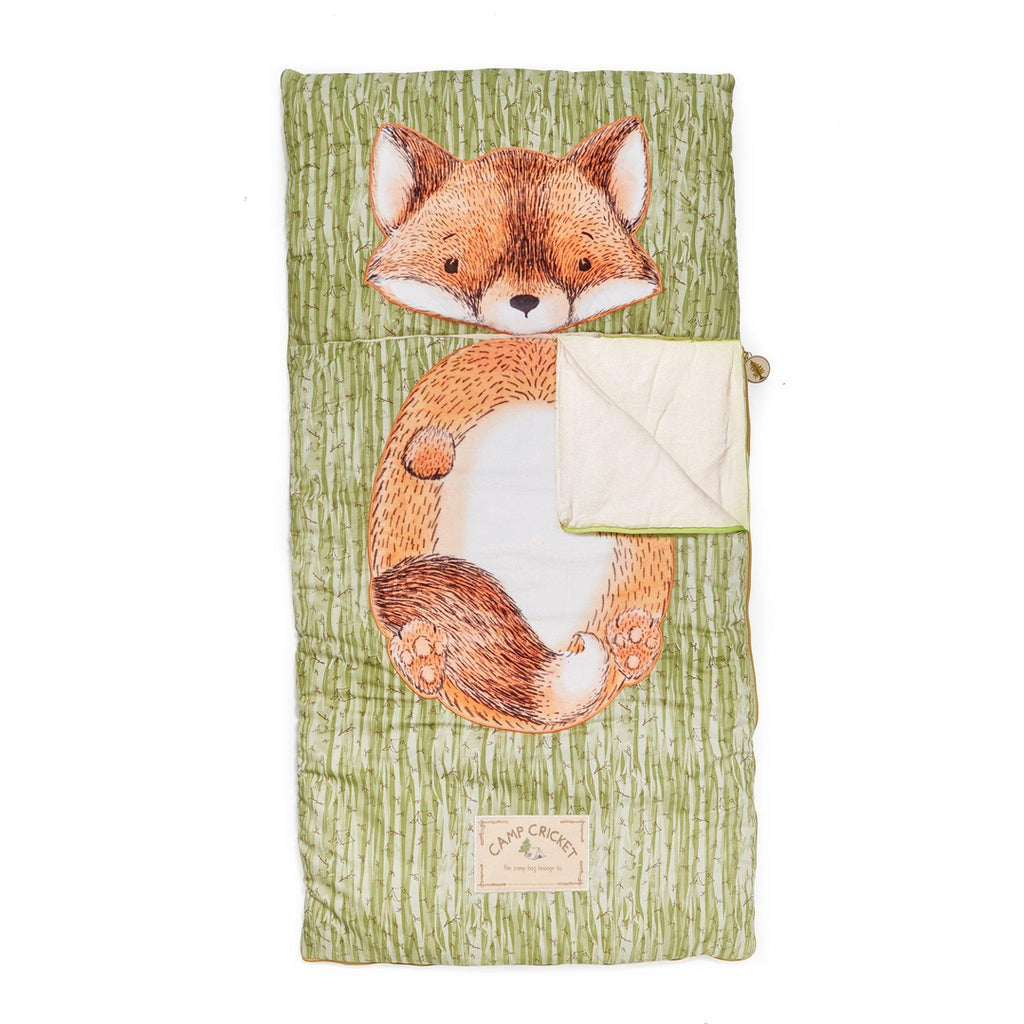 [product-color] Foxy the Fox Camp Bag a Camp Bag from Bunnies By The Bay: -843584014366-100717