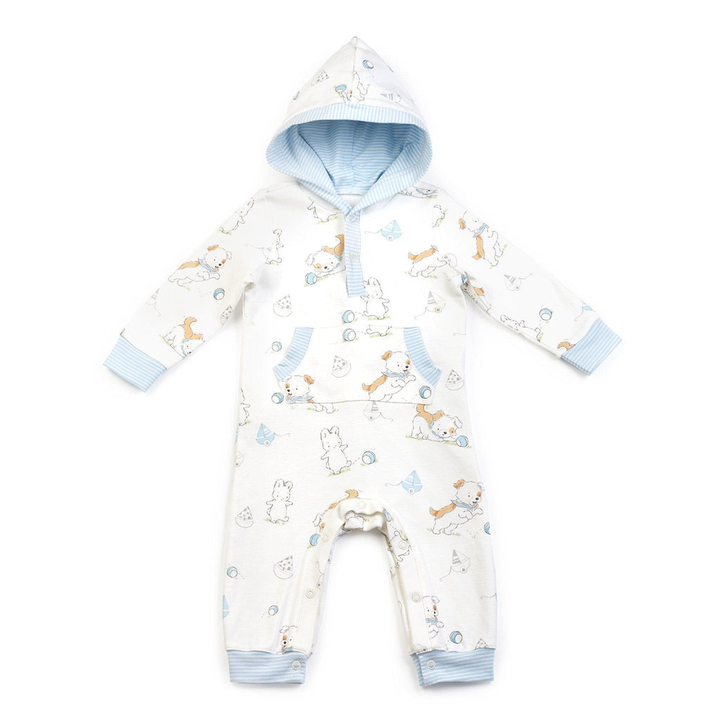 Have A Ball Hooded Romper-Apparel-Bunnies By The Bay
