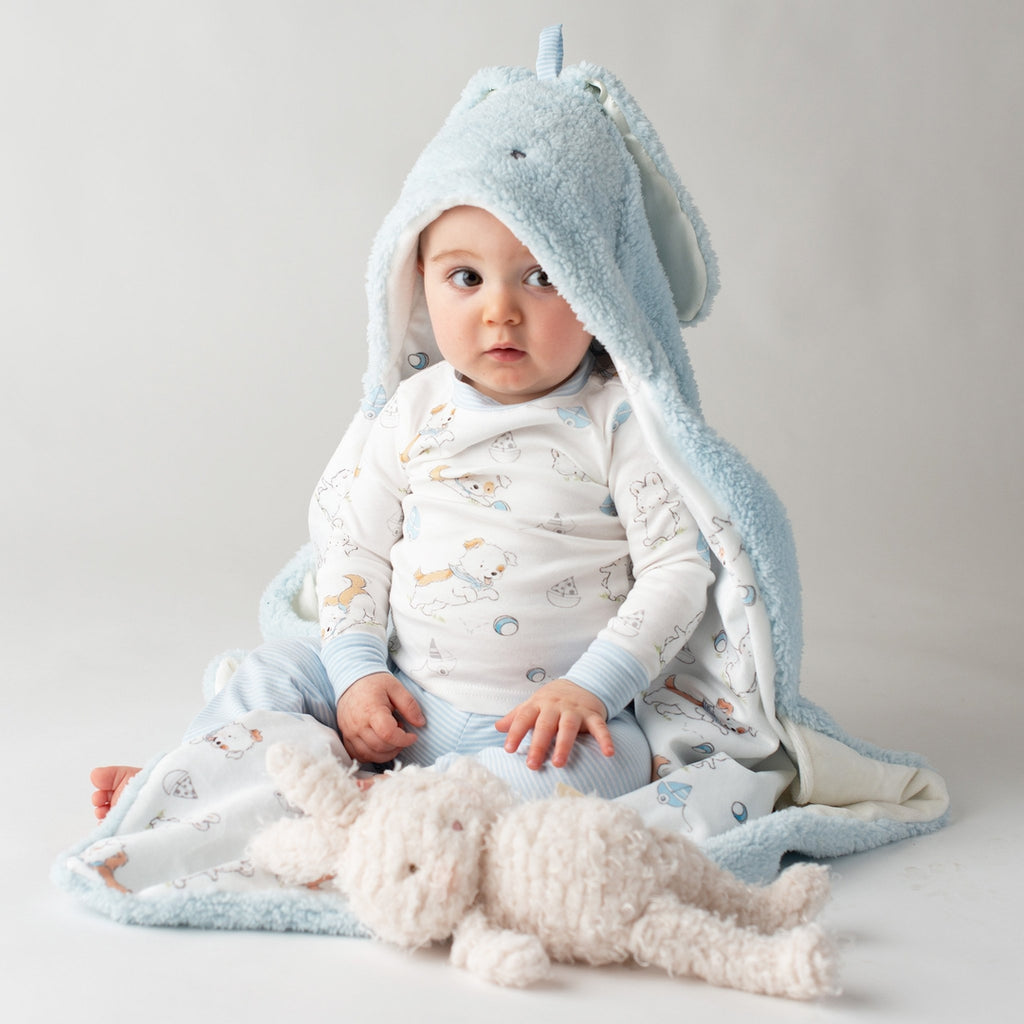 Bud Hooded Blanket-Hooded Blanket-Bunnies By The Bay