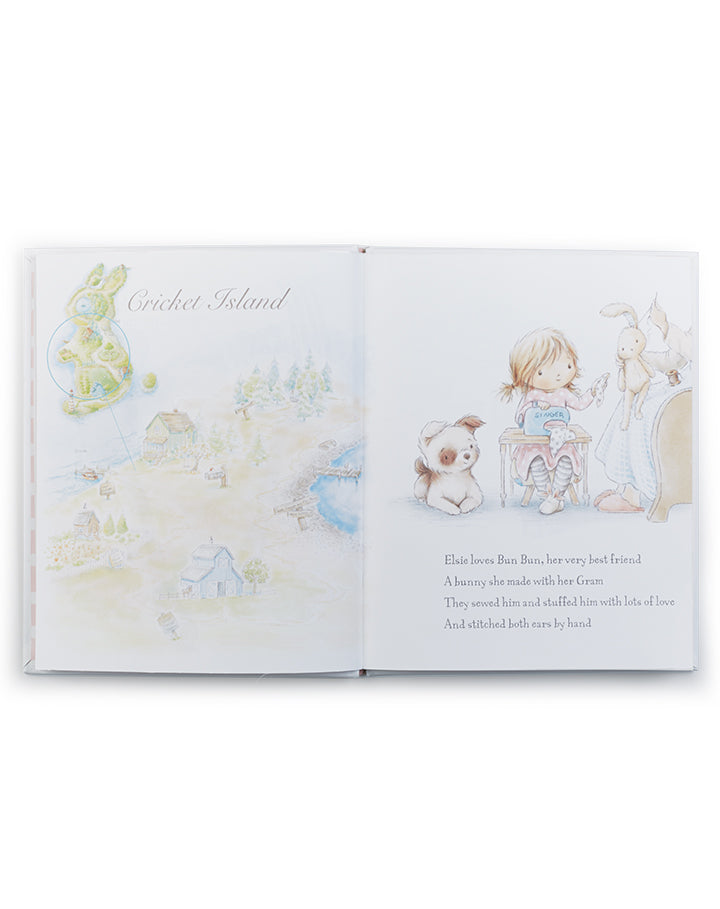 Bun Bun - A Lovey Story Book-Bunnies By The Bay Children's Books