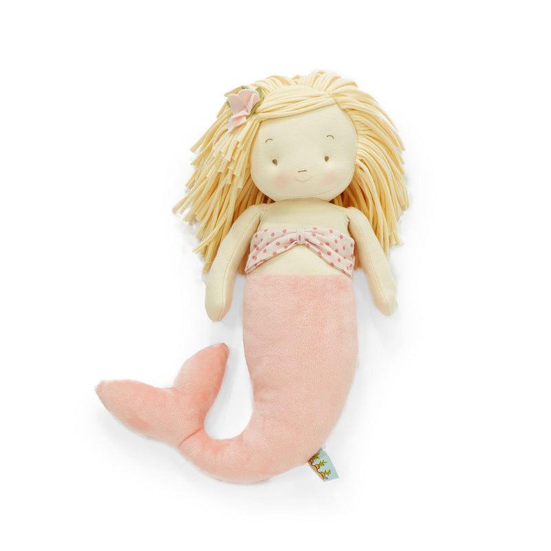 Retired - El-Sea Pink Mermaid Doll-stuffed animal-SKU: 100832 - Bunnies By The Bay
