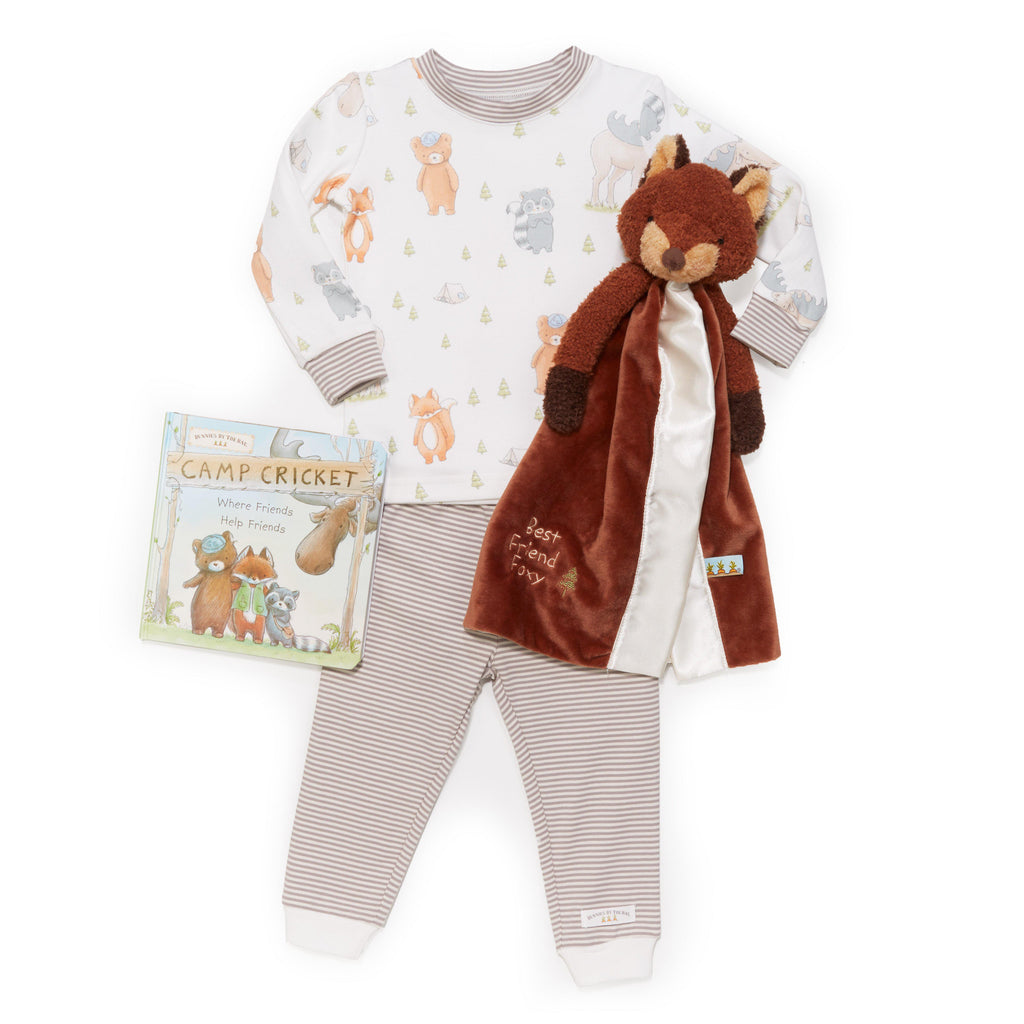 Foxy Sleepytime Toddler Gift Set-Gift Set-Bunnies By The Bay
