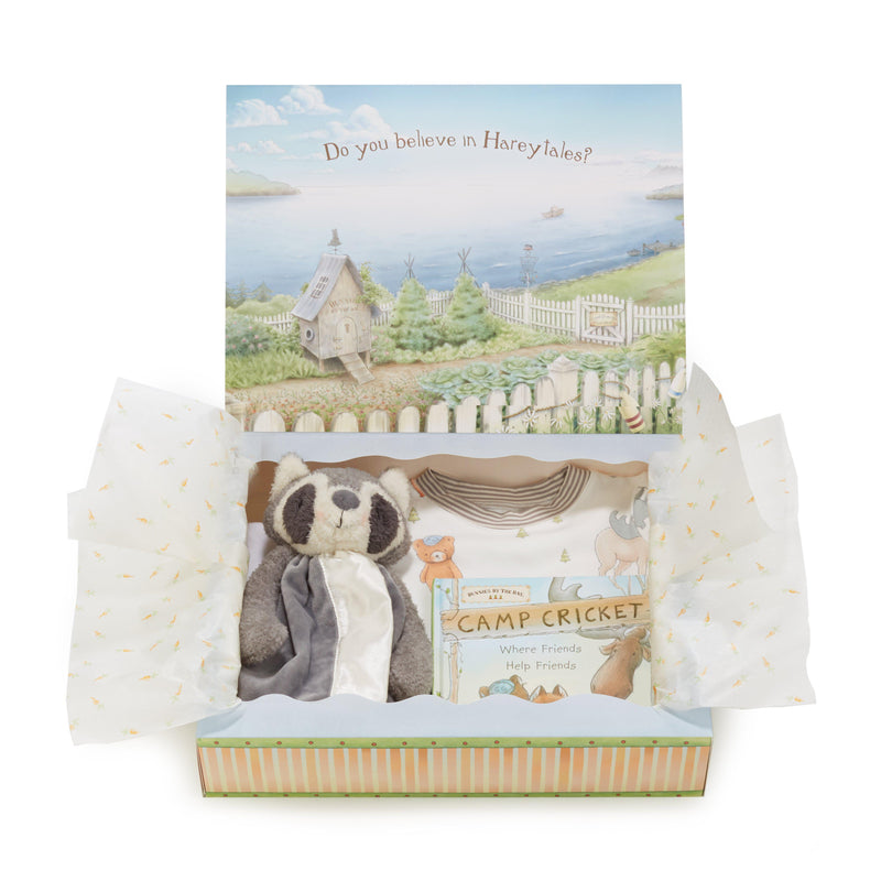 Roxy Raccoon Sleepytime Toddler Gift Set-Gift Set-Bunnies By The Bay