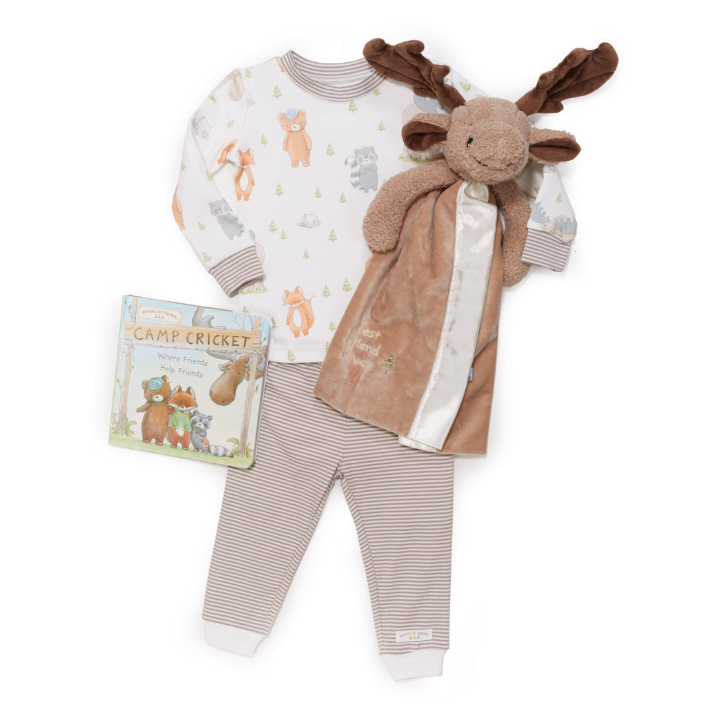 Bruce the Moose Sleepytime Toddler Gift Set-Gift Set-Bunnies By The Bay