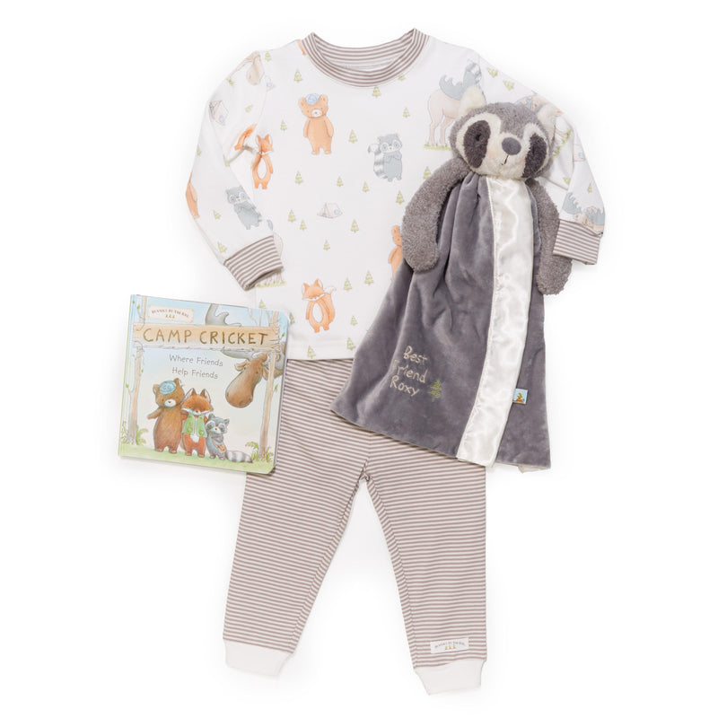 Roxy Raccoon Sleepytime Toddler Gift Set-Gift Set-12-18 months-Bunnies By The Bay