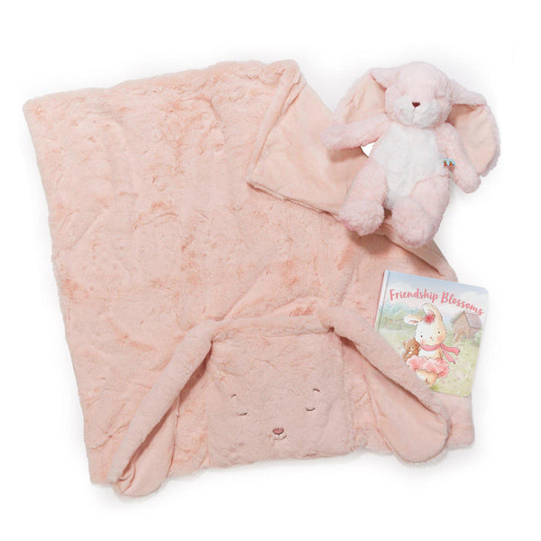 Blossom Bunny Tuck Me In Gift Set-Gift Set-SKU: 100847 - Bunnies By The Bay
