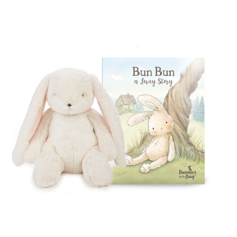 A Lovey Story - Book and Bunny Gift Set-Gift Set-SKU: 100861 - Bunnies By The Bay