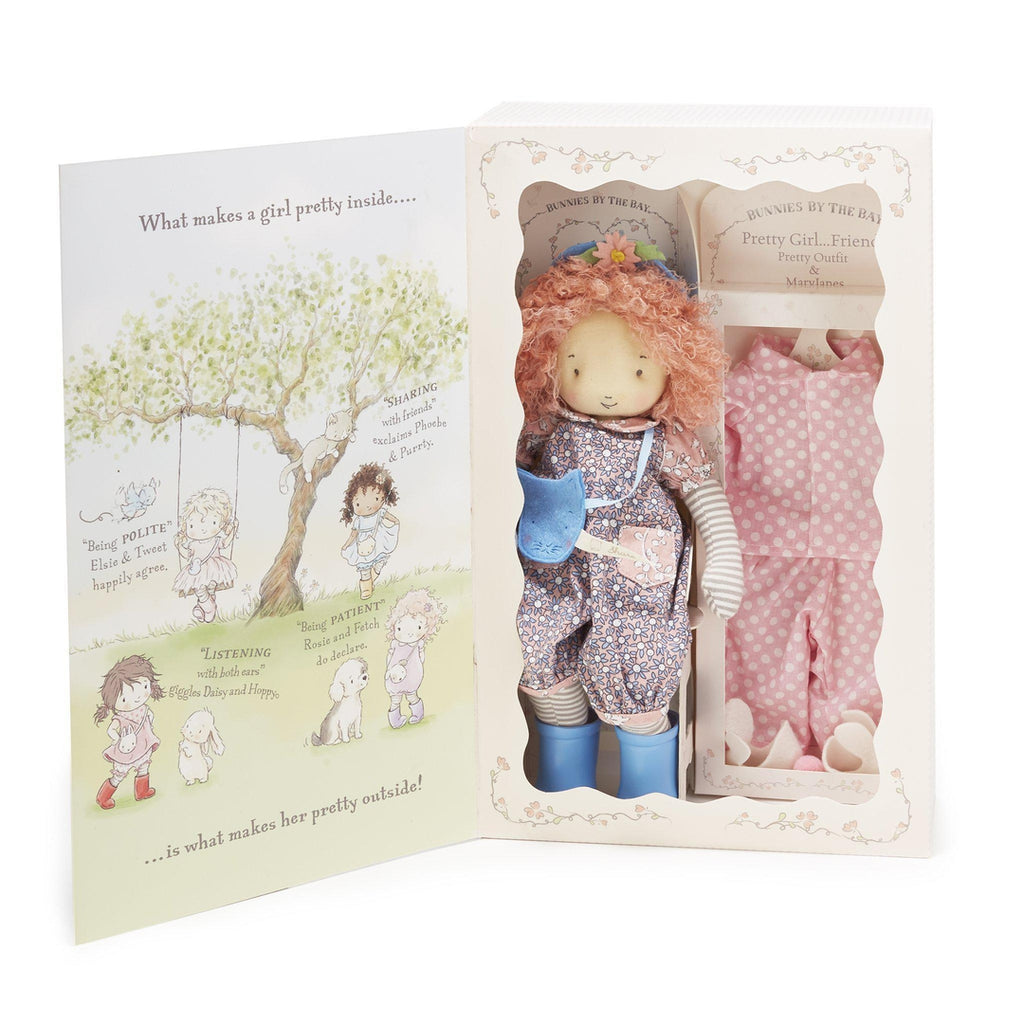 [product-color] Rosie Doll Gift Set a Doll from Bunnies By The Bay - Wholesale: -843584017541-100908