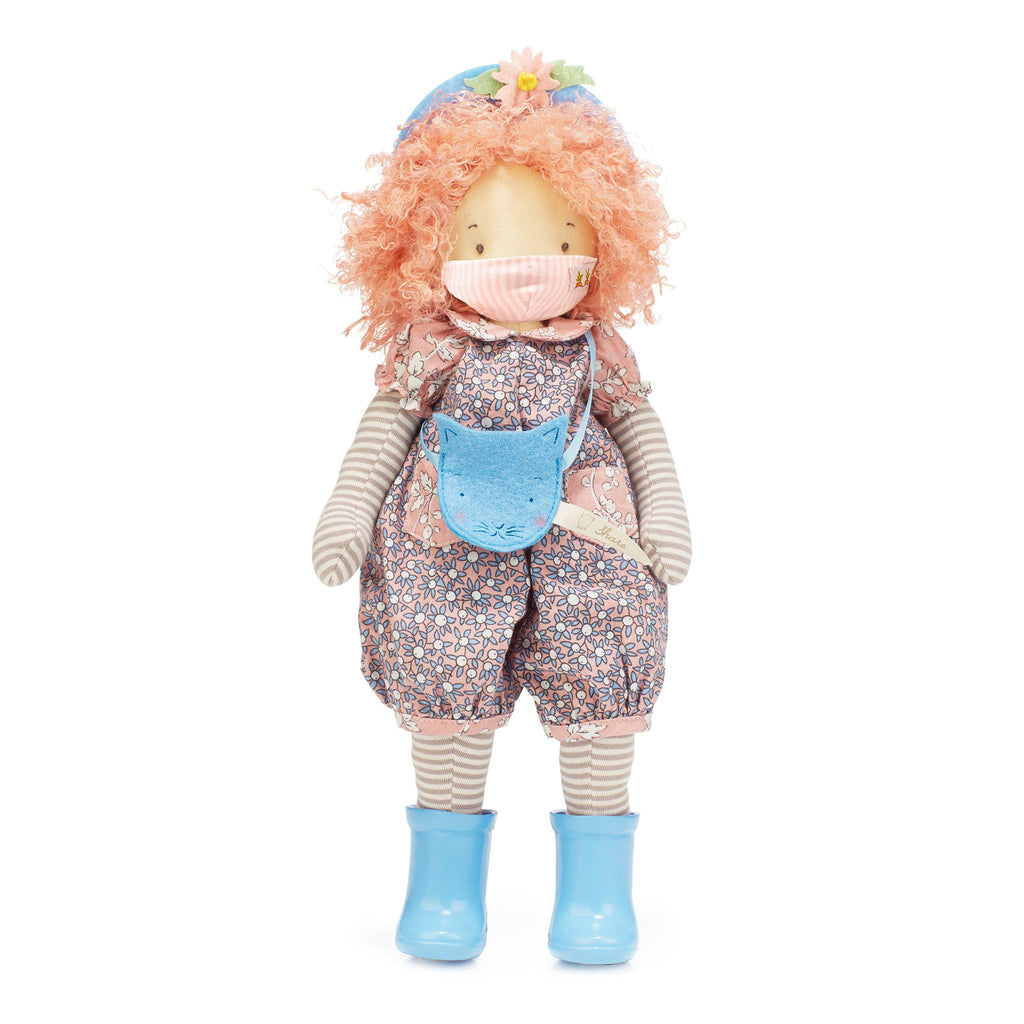 Rosie Girl Friend Doll with Face Mask-Face Mask-SKU: 101163 - Bunnies By The Bay