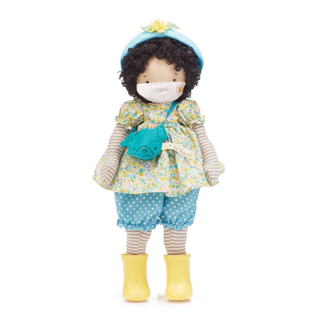 Phoebe Girl Friend Doll with Face Mask-Face Mask-SKU: 101164 - Bunnies By The Bay