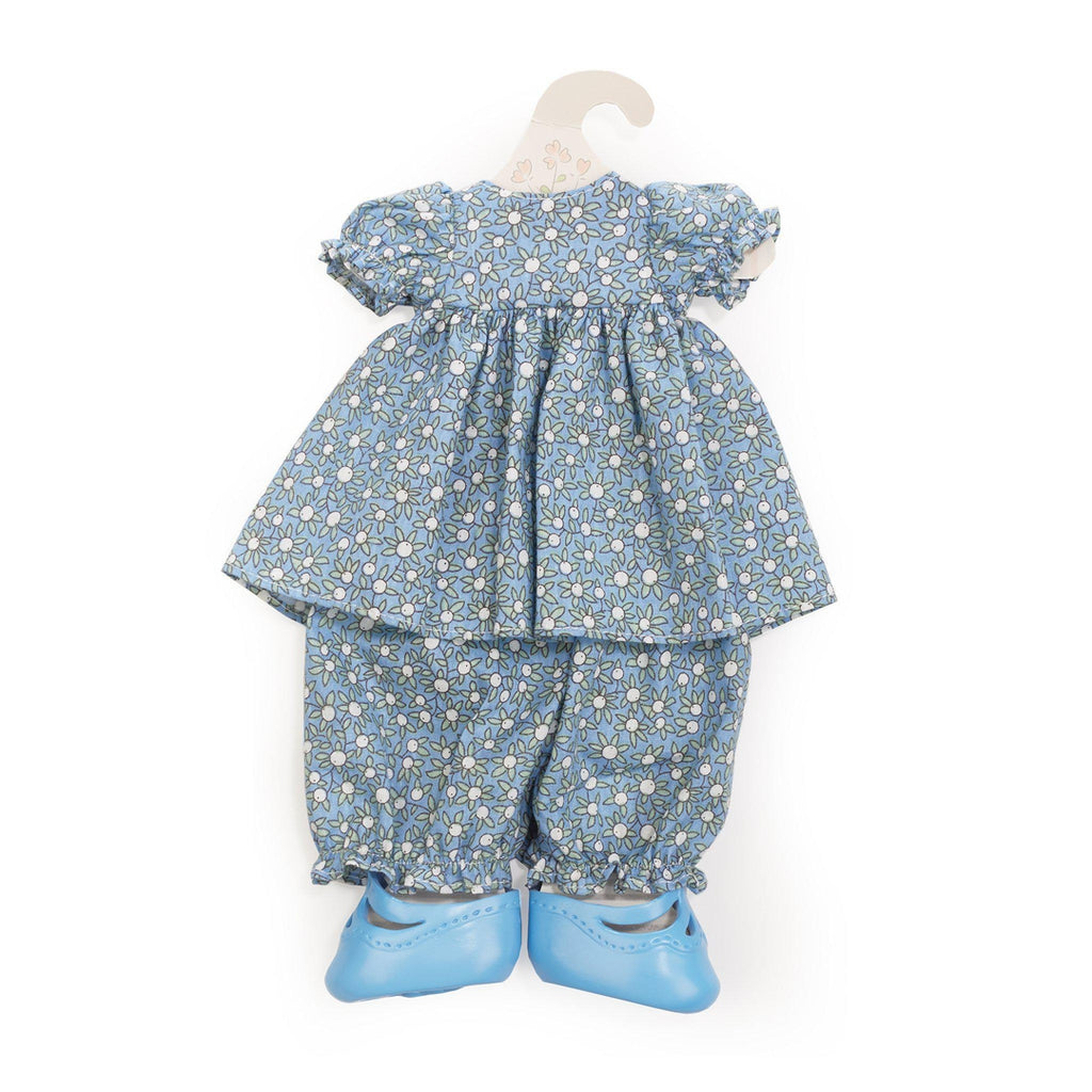 [product-color] Blue Bell Bloomer Set - Doll Clothes a Doll from Bunnies By The Bay - Wholesale: -843584016926-100888