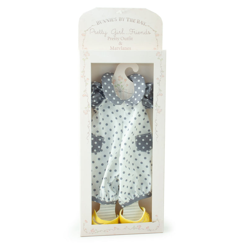 Dotty Romper Set - Doll Clothes-Doll-Bunnies By The Bay