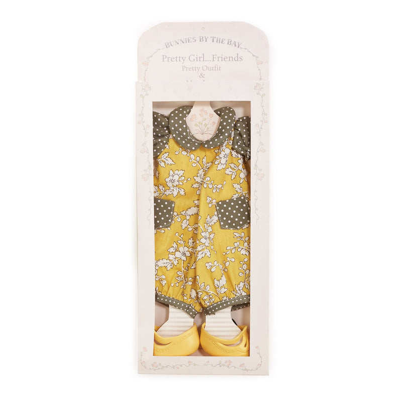 Mustard Seed Romper - Doll Clothes-Doll-Bunnies By The Bay