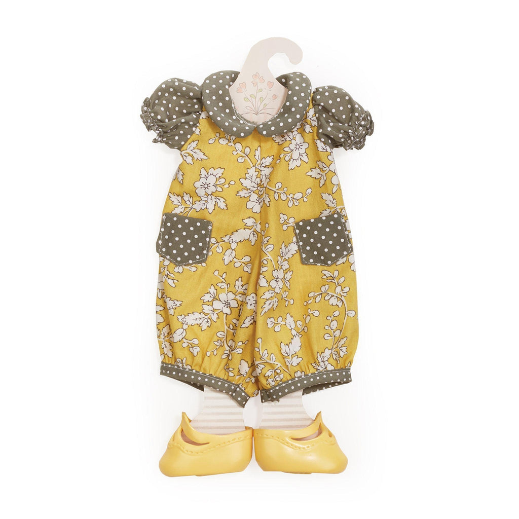 [product-color] Mustard Seed Romper - Doll Clothes a Doll from Bunnies By The Bay - Wholesale: -843584016964-100890
