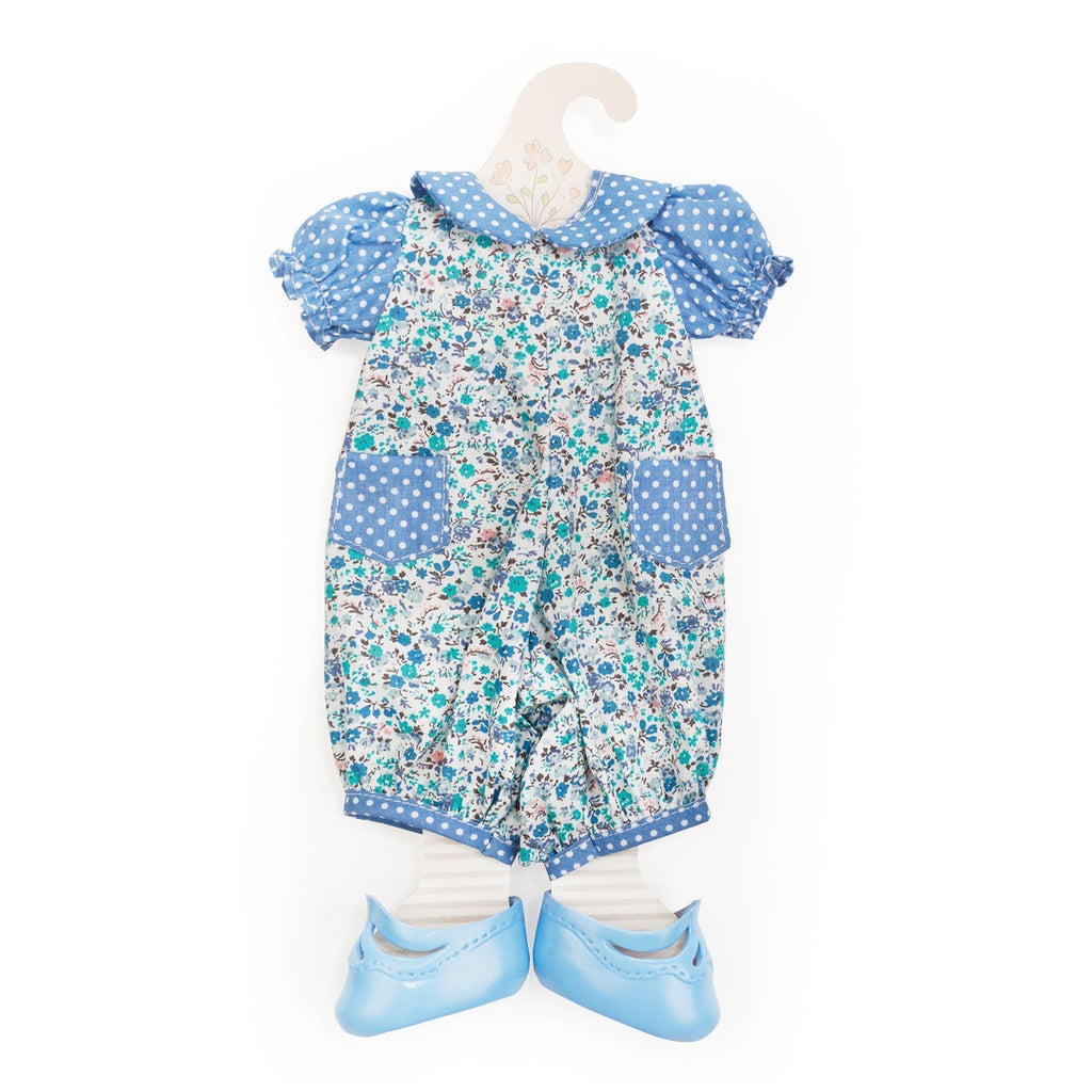 [product-color] Forget-Me-Not Romper - Doll Clothes a Doll from Bunnies By The Bay - Wholesale: -843584016988-100891