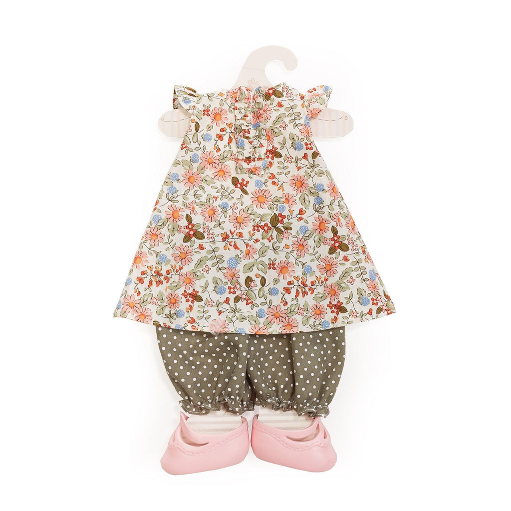 [product-color] Florabundra Bloomer Set - Doll Clothes a Doll from Bunnies By The Bay - Wholesale: -843584017022-100893