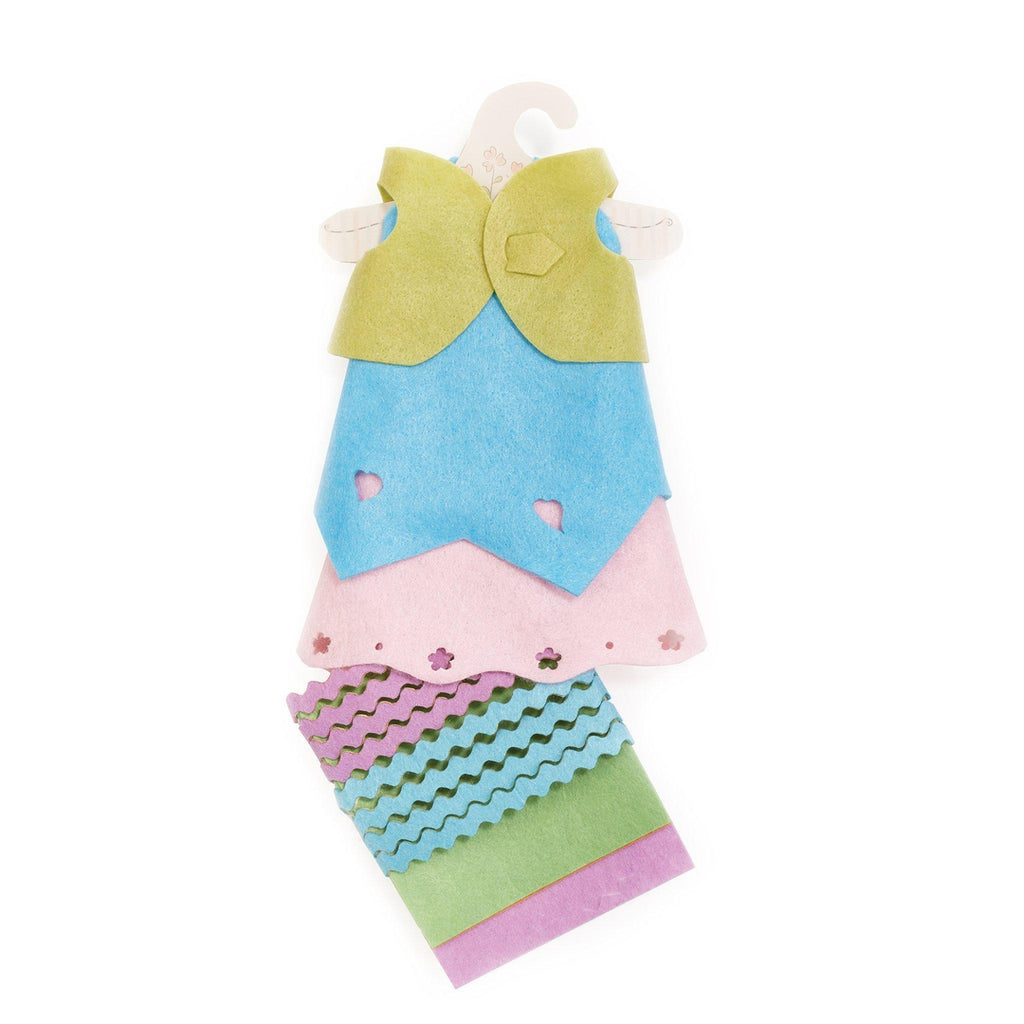 [product-color] Pretty Girl...Friends DIY Kit - Pastel - Doll Clothes a Doll from Bunnies By The Bay - Wholesale: -843584017046-100894