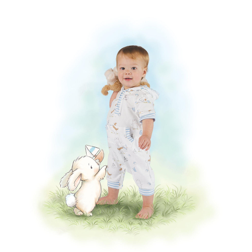 Image of Have A Ball Short Romper-Apparel-Bunnies By The Bay - Wholesale-6-9 months-bbtbay