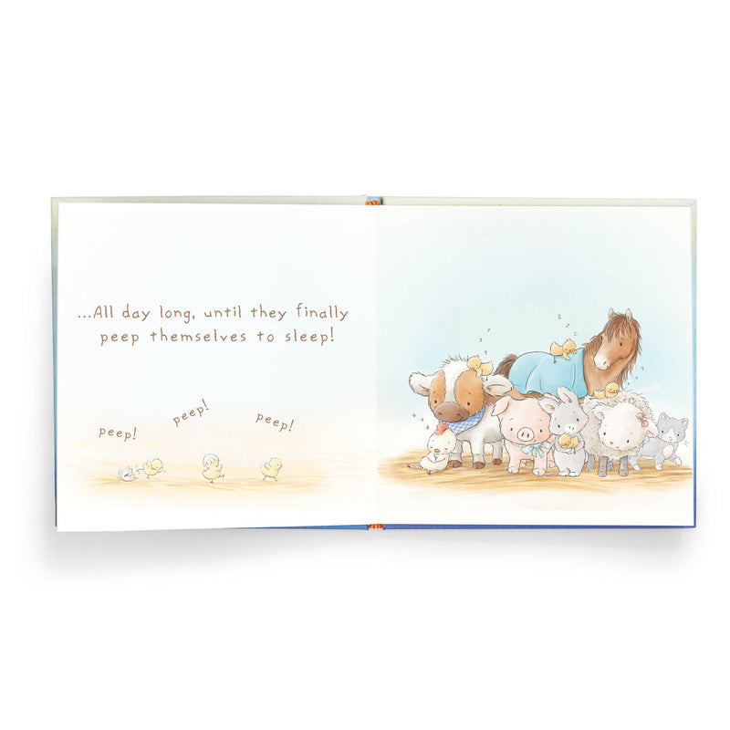 Who Says Peep Peep board book-Book-Bunnies By The Bay