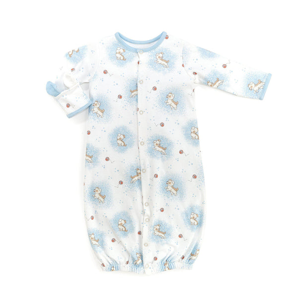 Skipit Convertible Gown & Romper-Apparel-3-6 Months-Bunnies By The Bay