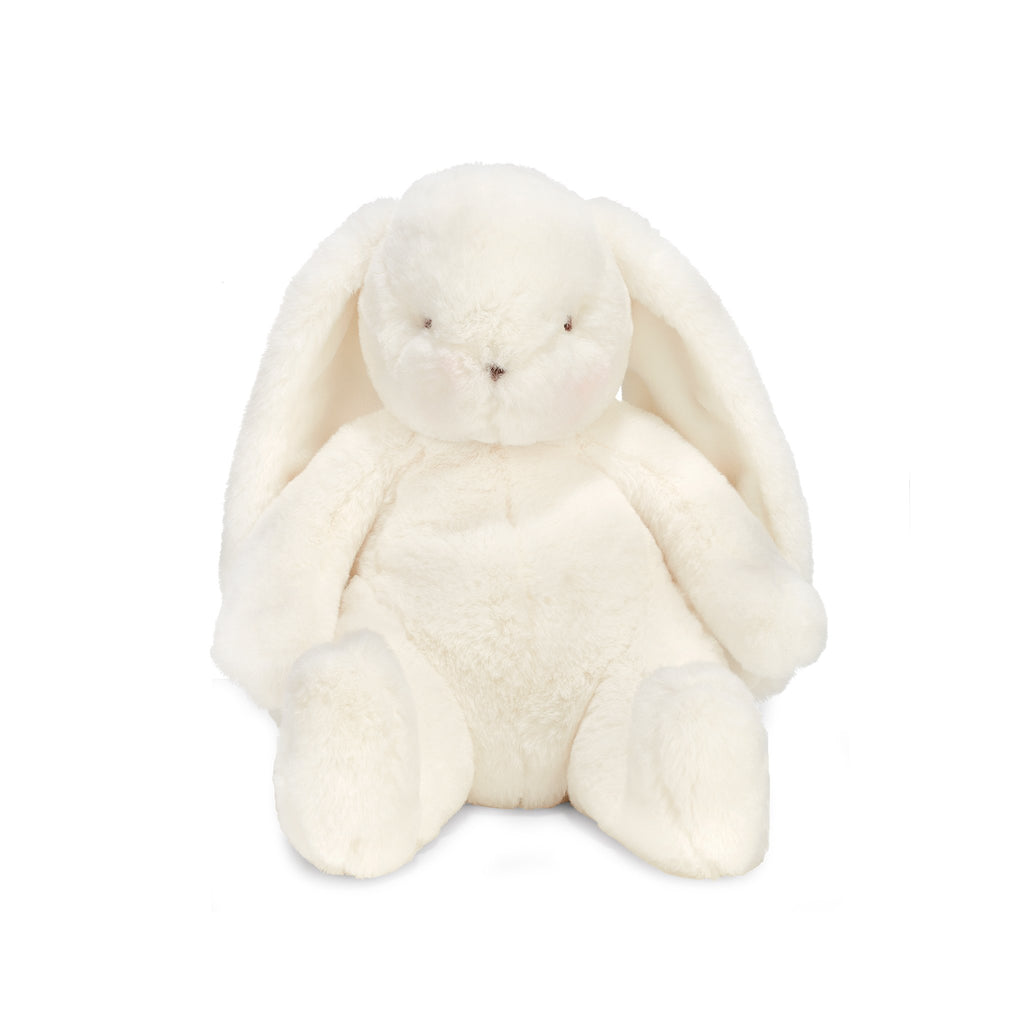 "Bun Bun Little Nibble 12"" White Bunny-Stuffed Bunny-Bunnies By The Bay"