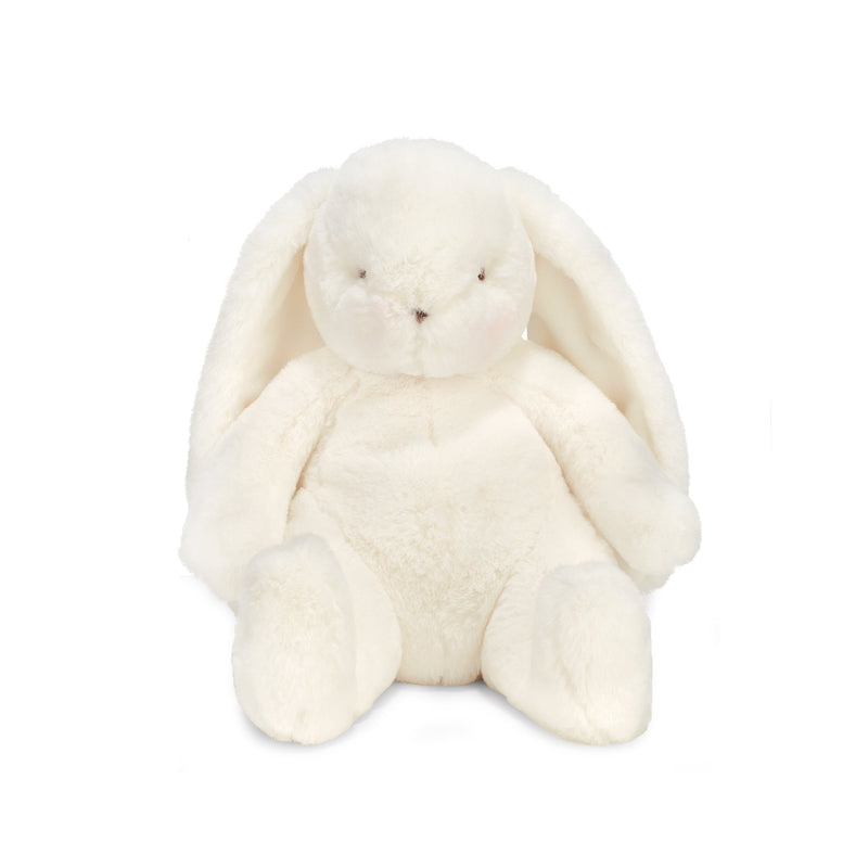"Bunny Plush Stuffed Animal - Bun Bun Little Nibble 12"" White Bunny-Stuffed Bunny-SKU: 100982 - Bunnies By The Bay"