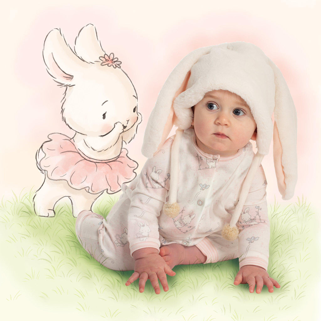 Blossom Bunny Fur Hat-Apparel-Bunnies By The Bay