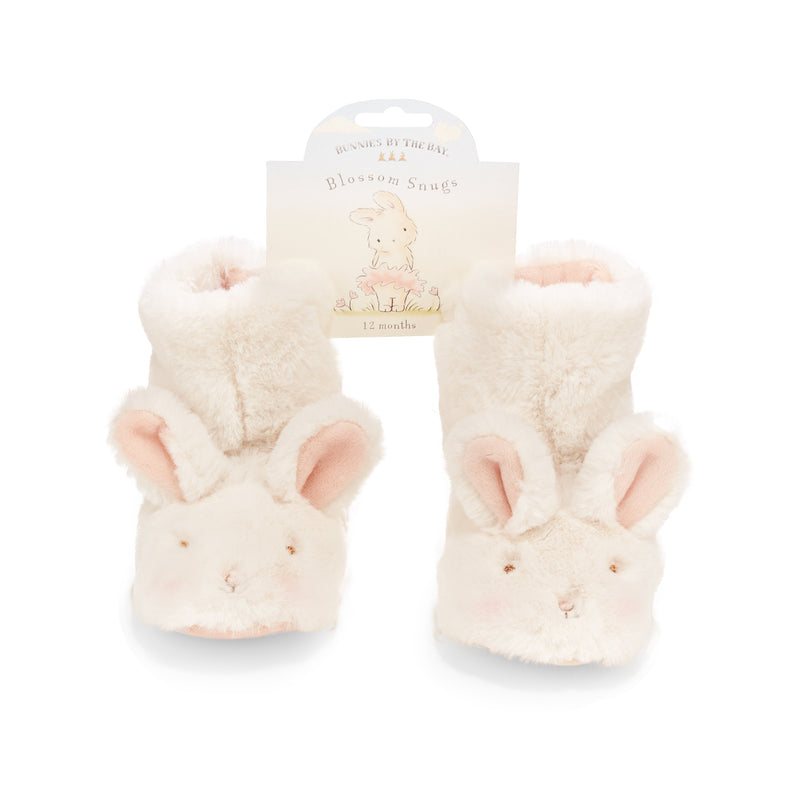 Blossom Bunny Baby Booties-Bunnies By The Bay
