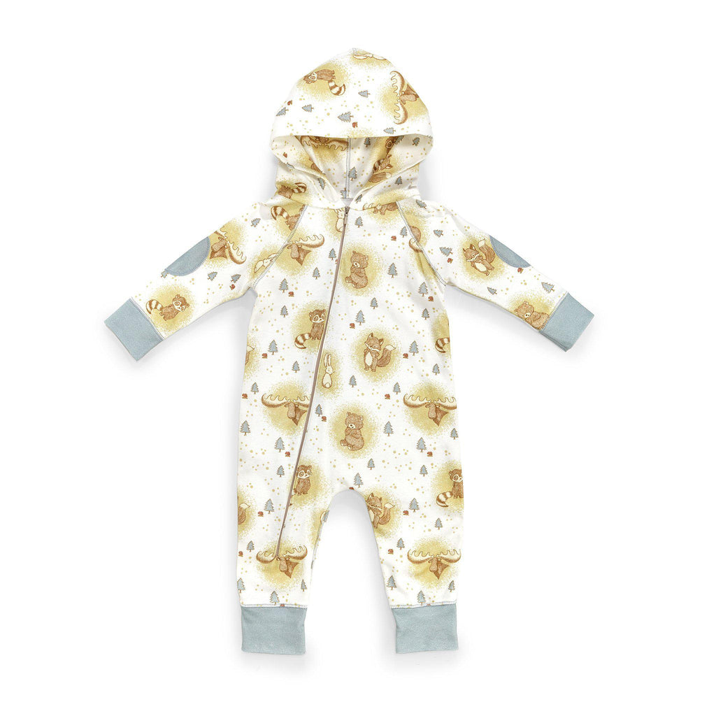 Camp Cricket Hooded Romper-Apparel-3-6 months-Bunnies By The Bay